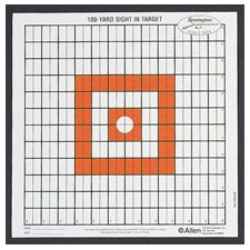 Remington Grid Shooting Target (Set of 12)