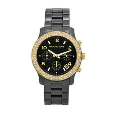 Women's Classic Black Ceramic Watch