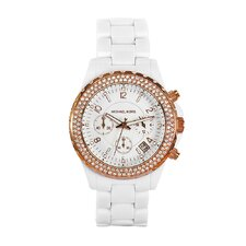 Women's White Acrylic Watch