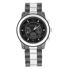 Men's Runway Watch with Grey Chronograph Dial