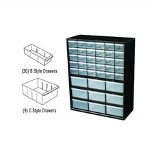 Parts-Station 39 Drawer Plastic Parts Cabinet