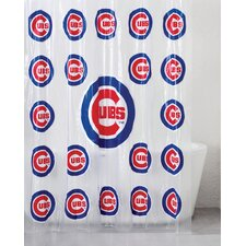 MLB PVC Shower Curtain