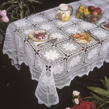 Stars Crochet Design Tablecloth