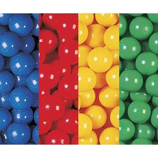"Box of 400 2.5"" Ball Pool Balls"
