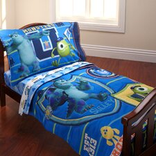 Monsters University 4 Piece Toddler Bedding Set