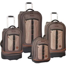 Jay Peak 4 Piece Luggage Set