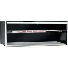 "72"" Triple Bank Hutch in Black"