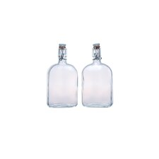 Flask Large Bottles (Set of 2)