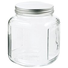 1 Gal Clear Glass Cracker Jar