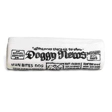 Vinyl Newspaper with Squeaker Dog Toy