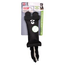 Spot Ballistic Tail Buddies Skunk Dog Toy