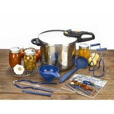 Duo 9 Piece Stainless Steel Pressure Canning Set