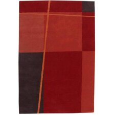 Contempo Red/Black Rug