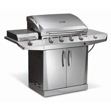 Performance TRU-Infrared Gas Grill with 4 Burners, Side Burner and Autoclean