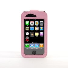 iPhone Classic Leather Sleeve in Pink
