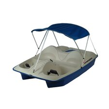 Sun Dolphin Five Person Pedal Boat with Canopy