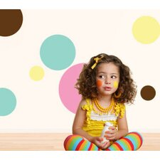 Polka Dot Power Self-Adhesive Wall Stencil Kit