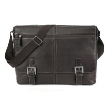 Tyler Tumbled Expandable Flap Briefcase