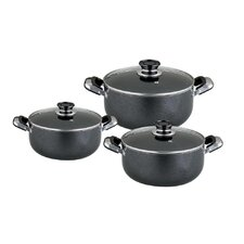 Imperial Hammertone Series Stock Pot with Lid
