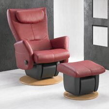 217 Cologne Glider with Open Base and Ottoman