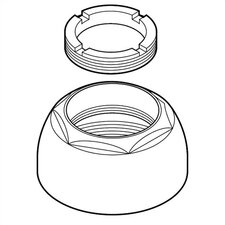 Replacement Cap Assembly with Adjustable Ring