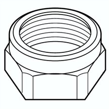 Replacement Bonnet Nut for Two Handle Faucets