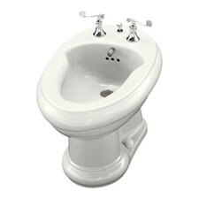 Revival Bidet, Plumbed for Horizontal Spray Bidet Faucet