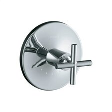 Purist Thermostatic Valve Trim with Cross Handle, Valve Not Included