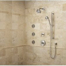 Purist Dual Control Complete Luxury Shower Trim Package