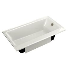 "Highbridge 60"" x 32"" Cast Iron Bathtub with Enameled Apron"