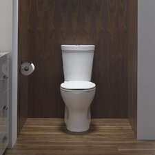 Persuade Two-Piece Elongated Dual-Flush Toilet with Top Actuator