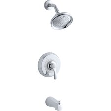 Fairfax Rite-Temp Pressure-Balancing Bath and Shower Faucet Trim, Valve Not Included