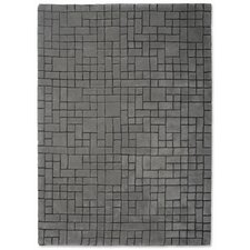 Hand Tufted Broken Grey Rug