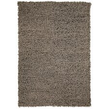 Wool Curly Taupe Rug