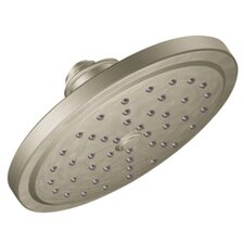 "Showering Acc Premium Brushed Nickel One-Function 7"" Diameter Rainshower Showerhead"
