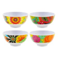 Floral Mini Bowls (Set of 4)