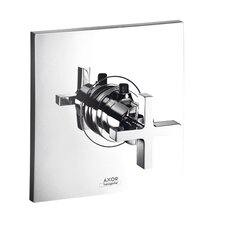 Axor Citterio Thermostatic Shower Faucet Trim with Cross Handle