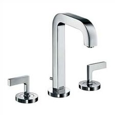 Axor Citterio Widespread Bathroom Faucet with Double Lever Handles
