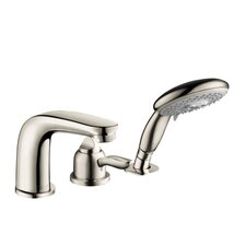 Solaris E Single Handle Dual Function Roman Tub Faucet and Hand Shower