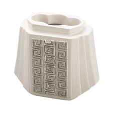 Greek Key Toothbrush Holder