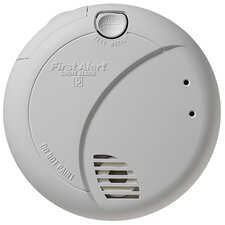 Smoke Alarm with Photoelectric Sensor and Battery Backup