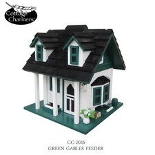 Cottage Charmer Series Green Gables Bird Feeder