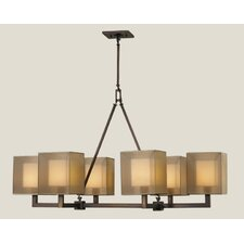 Quadralli 6 Light Chandelier