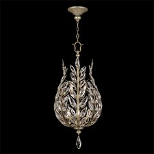 Crystal Laurel 6 Light Foyer Pendant
