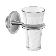HansaMurano Tumbler Holder with Glass in Chrome