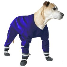 Dog Jog Rainsuit in Blue