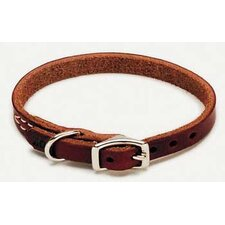 Latigo Leather Dog Collar in Latigo