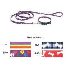 Nylon Pattern Dog Leash