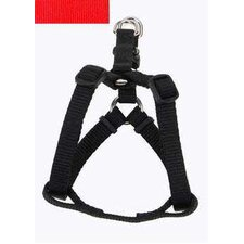 Comfort Wrap Nylon Adjustable Dog Harness in Red