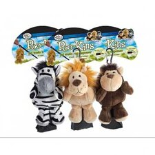Poo-Kins Zebra Bag Dispenser (with 15 Bags)